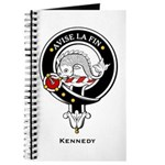 Kennedy Clan Crest Badge Journal