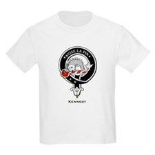 Kennedy Clan Crest Badge Kids T-Shirt