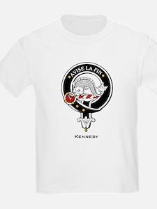 Kennedy Clan Crest Badge Kids T-Shirt