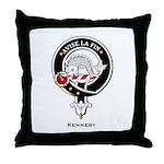 Kennedy Clan Crest Badge Throw Pillow