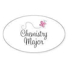 Cute Chemistry Major Decal
