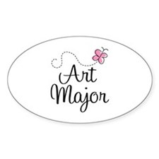 Cute Art Major Decal
