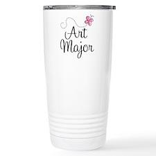 Cute Art Major Travel Mug