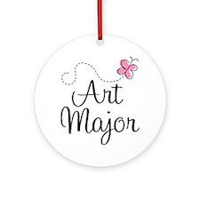 Cute Art Major Ornament (Round)
