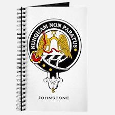 Johnstone Clan Crest Badge Journal