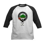 Irvine Clan Crest Badge Kids Baseball Jersey