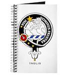 Inglis Clan Crest Badge Journal