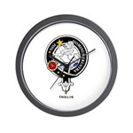 Inglis Clan Crest Badge Wall Clock
