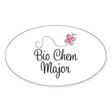 Cute Bio Chem Major Decal