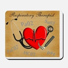 Respiratory Therapist XX Mousepad
