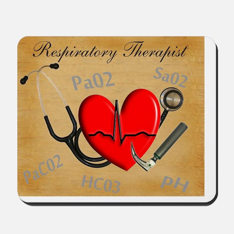 Respiratory Therapist XX Mousepad