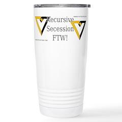 Recursive Secession FTW! Travel Mug