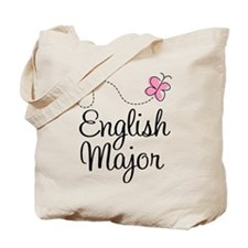 Cute English Major Tote Bag