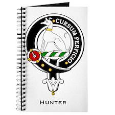 Hunter Clan Crest Badge Journal