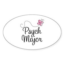 Cute Psych Major Decal