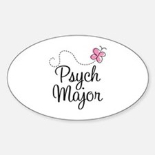 Cute Psych Major Decal