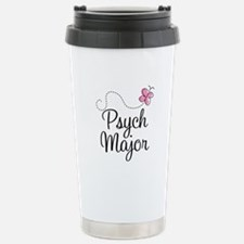 Cute Psych Major Stainless Steel Travel Mug