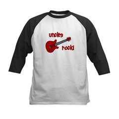 Uncles Rock! Red Guitar Tee