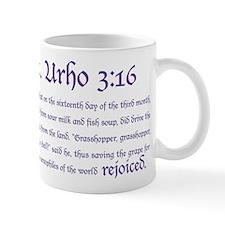 St. Urho 3:16 Small Mug