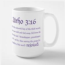 St. Urho 3:16 Mug