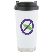 No Grasshoppers Travel Mug