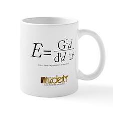 E = God did it Mug