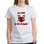 My Uncle is the Drummer Women's T-Shirt