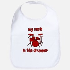 My Uncle is the Drummer Bib