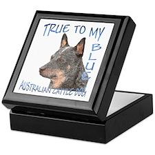True To My Blue Keepsake Box