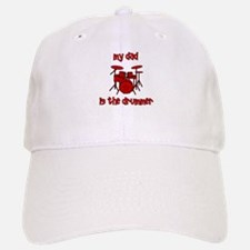 My Dad is the Drummer (drums) Baseball Baseball Cap