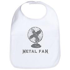 Metal Fan Bib