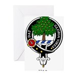 Hog Clan Crest Badge Greeting Cards (Pk of 10)