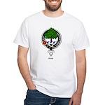 Hog Clan Crest Badge White T-Shirt