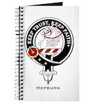 Hepburn Clan Crest Badge Journal