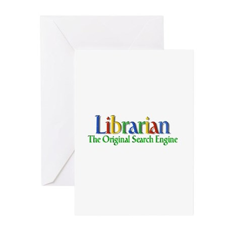 Librarian - Original Search Engine Greeting Cards