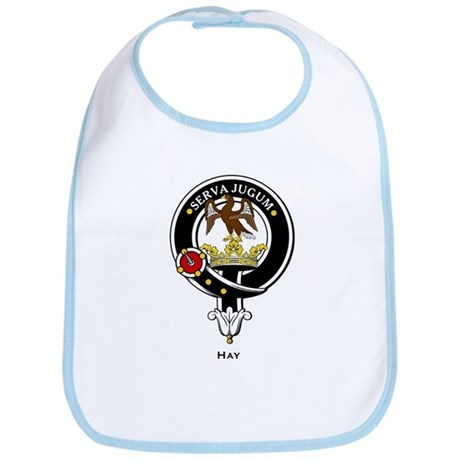 Hay Clan Crest Badge Bib