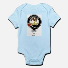 Hay Clan Crest Badge Infant Creeper
