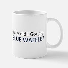 blue waffle Mugs