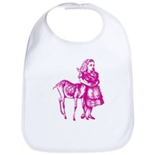 Alice with Fawn Pink Bib