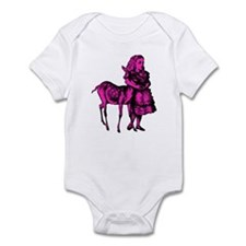 Alice with Fawn Pink Fill Infant Bodysuit