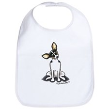 Rat Terrier Sit Pretty Bib