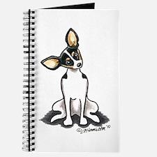 Rat Terrier Sit Pretty Journal