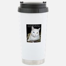 Make it Stop 6 Travel Mug
