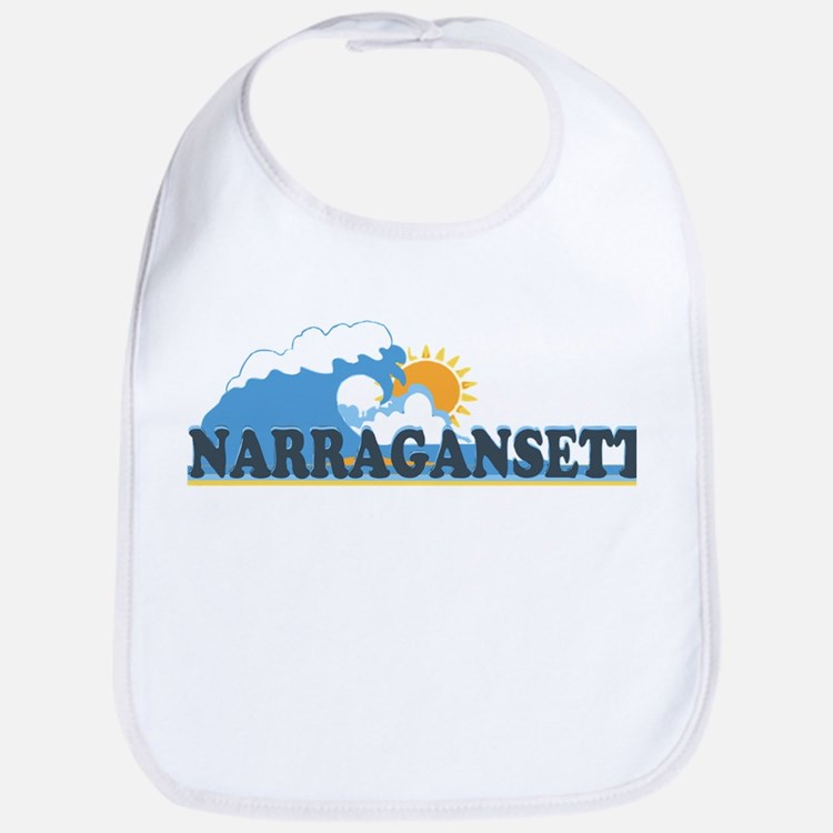 Narragansett RI - Waves Design Bib