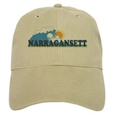 Narragansett RI - Waves Design Cap