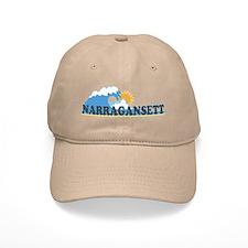 Narragansett RI - Waves Design Cap