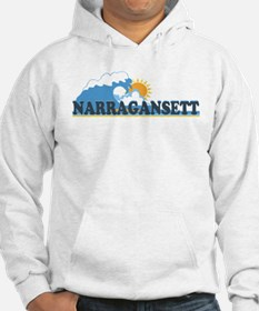 Narragansett RI - Waves Design Jumper Hoody