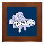 Chillax Framed Tile