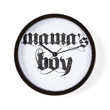 Mama's Boy Wall Clock