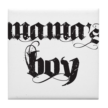 Mama's Boy Tile Coaster